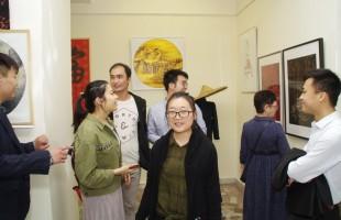 """В Уфе открылась выставка работ башкирских и китайских художников """"Евразийский мост"""""""