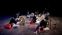 Корейские музыка и танцы на фестивале национальных культур «Берҙәмлек»