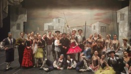 The Bashkir Opera and Ballet Theater presented Don Quixote in Italy