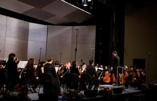 В Уфе в рамках закрытия фестиваля Brass Days с НСО РБ выступил Владислав Лаврик