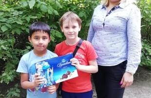 Сотрудники Центра детского чтения провели для детей День шоколада