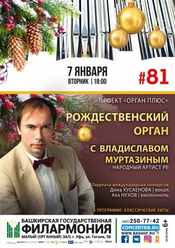 Концерт «Рождественский орган с Владиславом Муртазиным»
