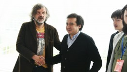 Director Emir Kusturitsa met with film makers of Bashkortostan