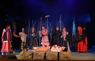 """Sibay hosted the premiere of the play """"The Path of Canaf"""" of the Children's Theater """"Sulpan"""""""