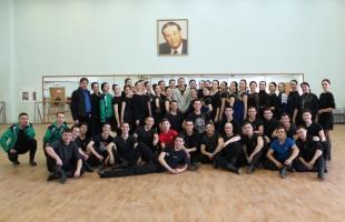 Ансамбль имени Ф. Гаскарова готовит танец к 100-летию образования Башкортостана