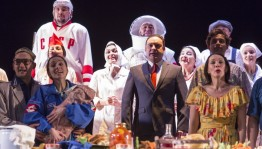 "The performance of the Bashkir Drama Theater ""On the Jelly Coast"" became the best at the festival in Yekaterinburg"