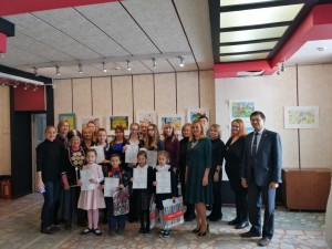 Winners of a drawing contest dedicated to the 100th anniversary of the republic awarded in Ufa