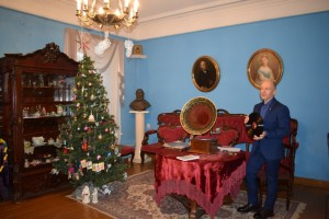 In the House-Museum of S.T. Aksakov passed evening gramophone music