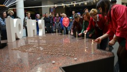 "The Republican Museum of Military Glory of the RB held an action ""Candle of Memory"""