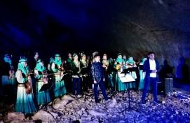 В Каповой пещере состоялся концерт Национального оркестра народных инструментов РБ