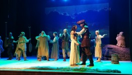 "National Youth Theater presented the premiere of the play ""Love and Hate"""