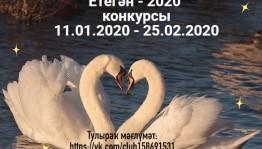 Принимаются заявки на участие в открытом республиканском конкурсе «Етегән-2020»