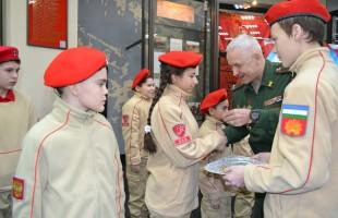 В Уфе прошла торжественная церемония принятия в ряды Всероссийского военно-патриотического общественного движения «Юнармия»