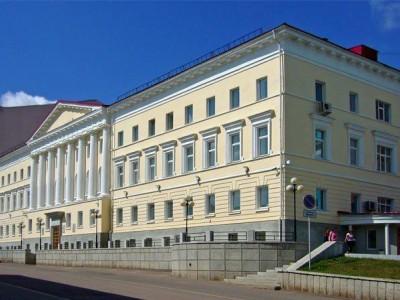 Здание Уфимской Духовной семинарии (1828-1918 гг.)