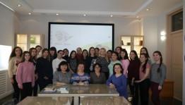 В Национальной библиотеке прошло мероприятие к Международному дню родного языка