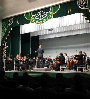 Национальный симфонический оркестр РБ отправился в гастроли по Зауралью