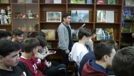 В Национальной библиотеке РБ прошло мероприятие для студентов УТЭК