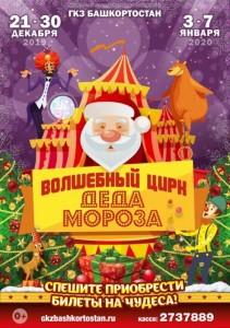 Новогодние представления «Волшебный цирк деда Мороза»