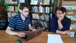Участники научной лингвистической экспедиции МГУ им. М. В. Ломоносова  посетила Удмуртский ИКЦ