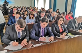 International dictation was held in Bashkortostan