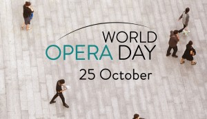 The International Opera Day is celebrated on October 25