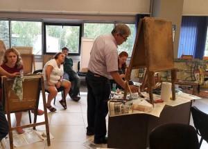 В Арт-студии А. Кудаярова пройдёт занятие по масляной живописи