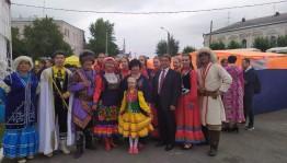 Башкирские музыканты посетили знаменитую Ирбитскую ярмарку