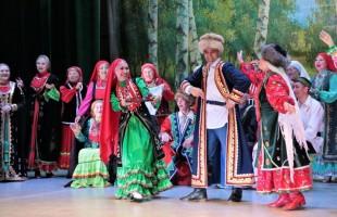 В Уфе с отчётным концертом выступил башкирский фольклорный коллектив «Ауаз»