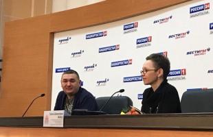 """The author of the novel """"Zuleikha opens her eyes"""" Guzel Yakhina came to Ufa to see the play based on her novel"""